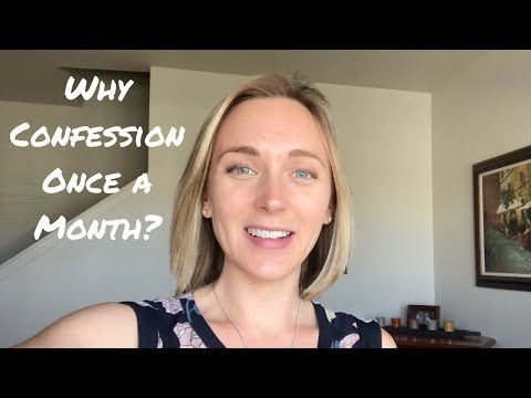 Quickie: Why go to Confession once a month? • Catholic Radio Answer!