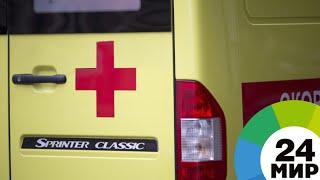 После столкновения автобуса с трубопроводом в Удмуртии пострадали 15 человек