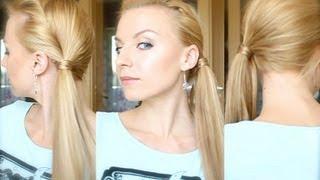 Любимая причёска Лета - хвост набок(Лучшие и любимые кисти для макияжа http://littleurl.info/lovebrushes ( купон для скидки 10% в феврале FEB 2014, купон на след...., 2012-07-27T09:49:08.000Z)