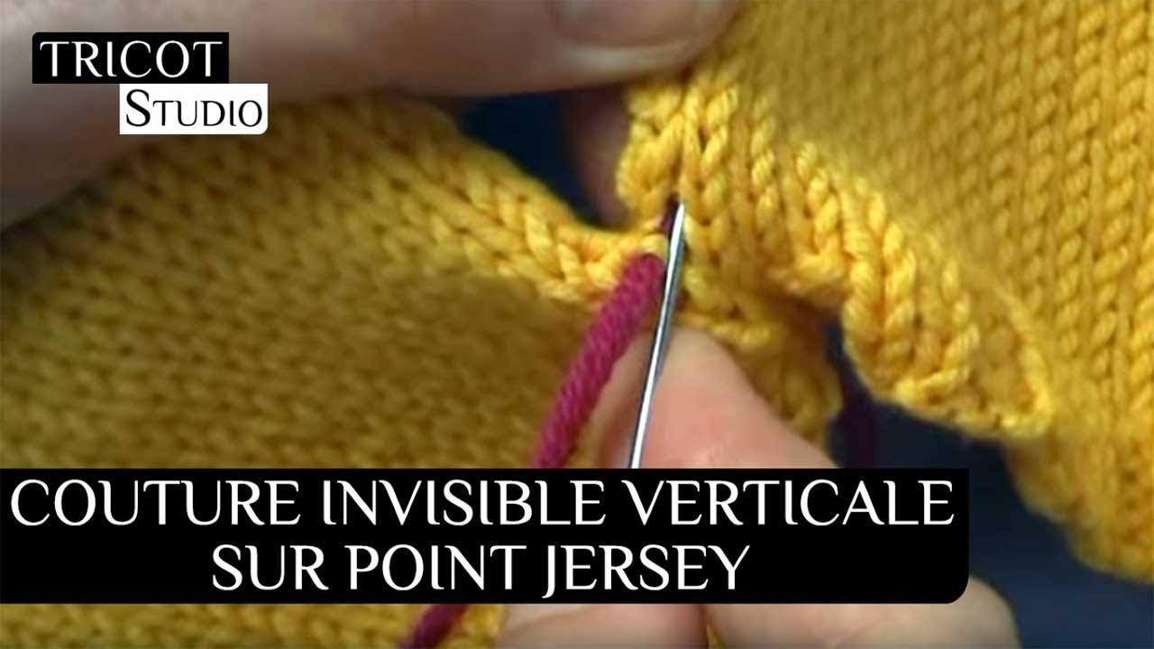 renommée mondiale meilleur endroit choisir authentique Tricot - Couture invisible verticale sur point jersey