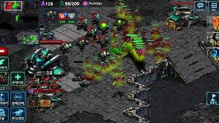 스타커맨더 크리퍼 vs 테란전 개사기빌드 본진스팅어 강의 screenshot 3