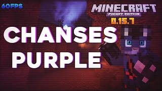 La Mejor Textura Para PvP Minecraft PE 0.15.8 (POCKET EDITION) - Chanses Purple- Epic Texture Pack