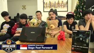 blackshot allstar championship champion interview sage fast forward