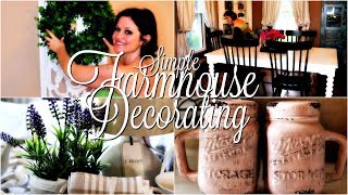 Dining Room Decorate & Clean With Me! Farmhouse Home Decor And Decorating Ideas 2019!