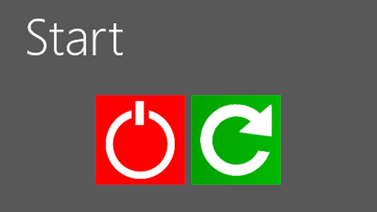 How to Make A Shutdown Button for Your Windows 8 Start ...