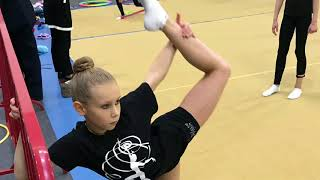 Художественная гимнастика & Nadezda life для начинающих в