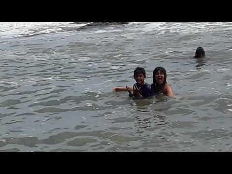 Meu Raph@ e eu na Praia dos Milagres em Olivença  Ilhéus  21.01.2020