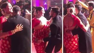 Virat Kohli and Anushkha Sharma Best dance moves - Cute Couple