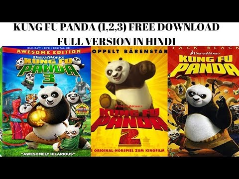 How To Download  Kung Fu Panda (1,2,3) Full Movie In Hindi 720p