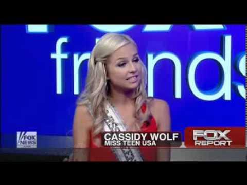Miss Teen USA Cassidy Wolf Nude Photo Threat Miss Teen USA