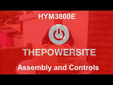 HYM3800E Assembly And Controls
