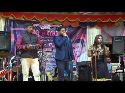 Poo...malai... oru ....song Performance by Dhivagar and Arya ( Big B Orchestra)