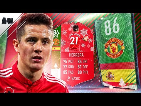 FIFA 18 FUTMAS HERRERA REVIEW | 86 FUTMAS HERRERA PLAYER REVIEW | FIFA 18 ULTIMATE TEAM