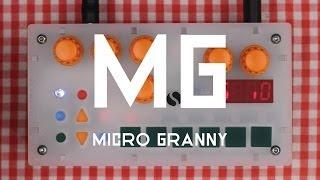 microGranny 2.0 - handmade granular sampler