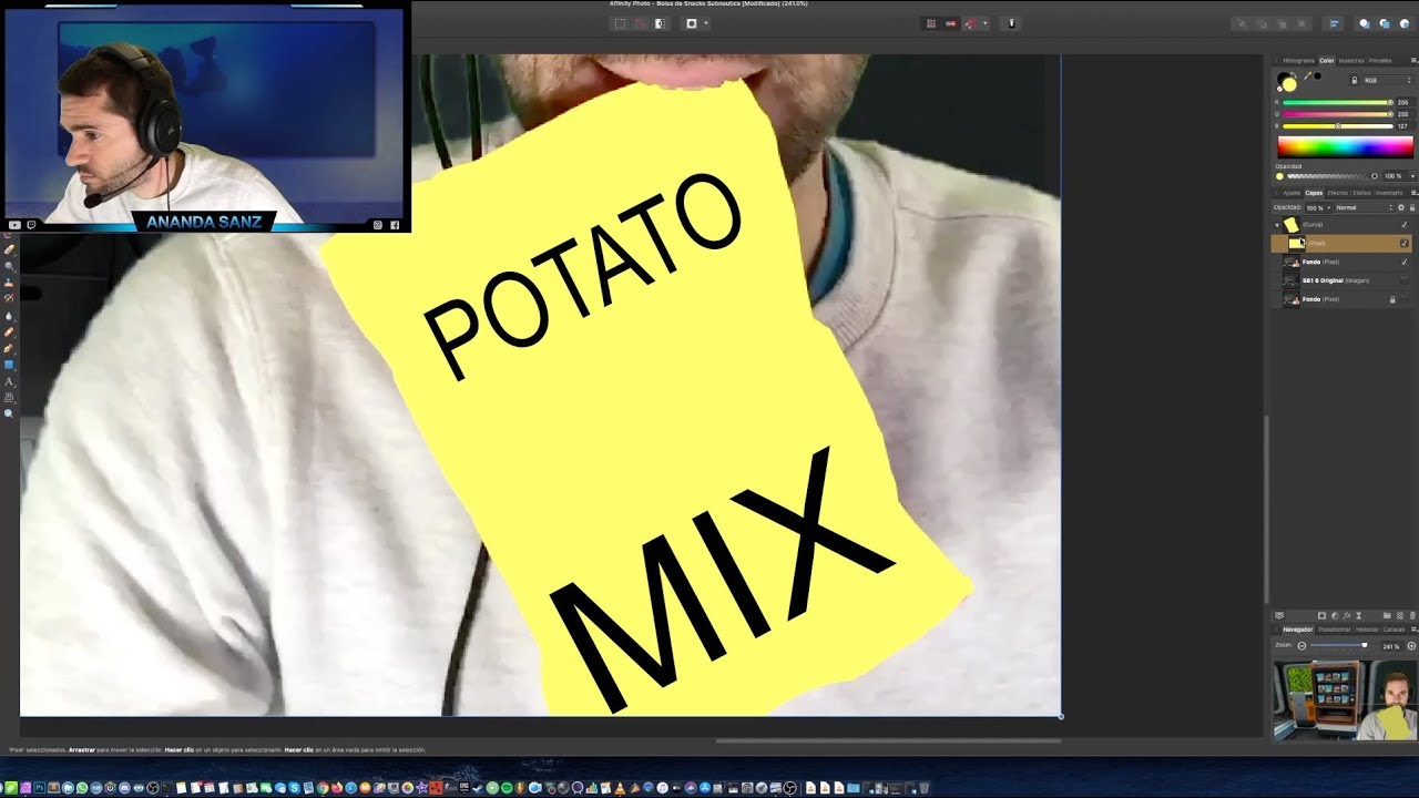 Diseño una Portada SIN Photoshop 2019, con Affinity Photo | Potato MIX 🍟😜