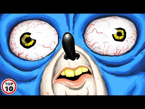 Top 10 Strangest Sonic Video Games  