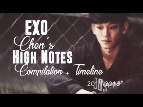 EXO Chen's High Notes Compilation 2011-2016