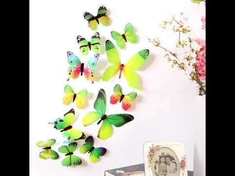 Butterfly Decals for Walls - 3D Butterfly Wall Decals - Butterfly Wall Stickers Designs