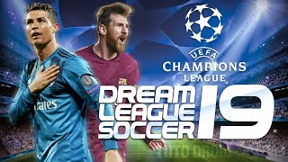 NUEVO DREAM LEAGUE SOCCER 2019 UEFA CHAMPIONS LEAGUE ACTUALIZADO + ONLINE APK + DATOS OBB