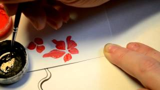 Дизайн ногтей. Линии и мазки. 4 часть.Учимся рисовать художественная роспись.