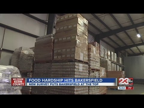 New survey ranks Bakersfield worst in nation for food hardship