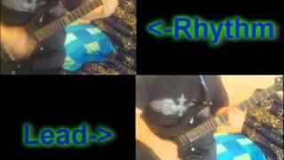 Sum 41 - Jessica Kill Guitar Cover, (Rhythm and Lead)
