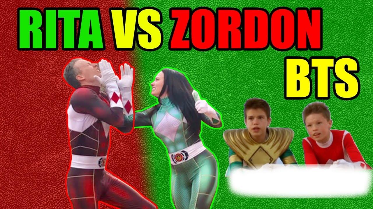Power Rangers Season 2 Ep 2, Ninja Kidz TV, Rita vs. Zordon Behind the Scenes