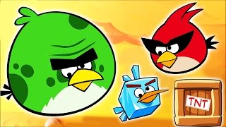EPIC Angry Birds videos - surprise eggs, toys and many Disney folks by supercool4kids