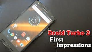 First Impressions: Motorola Droid Turbo 2