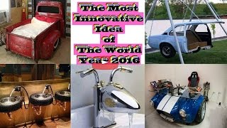 The Most Innovative Idea of The World, Year 2016.