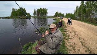 Рыбалка с дедом. Даже караси клевали. Ловля на поплавок