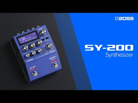 BOSS SY-200 Synthesizer featuring McRocklin