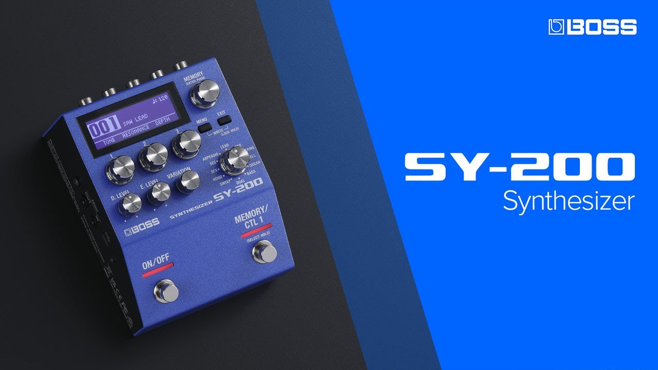 Download BOSS SY-200 Synthesizer featuring McRocklin