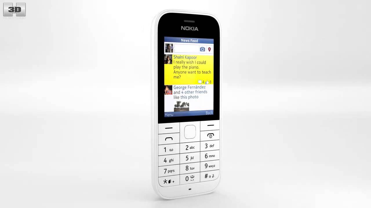 Обзор Nokia 225   mobilnika.net - YouTube