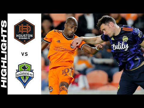 Houston Seattle Sounders Goals And Highlights