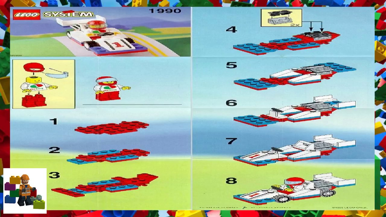 how to make a lego race car instructions