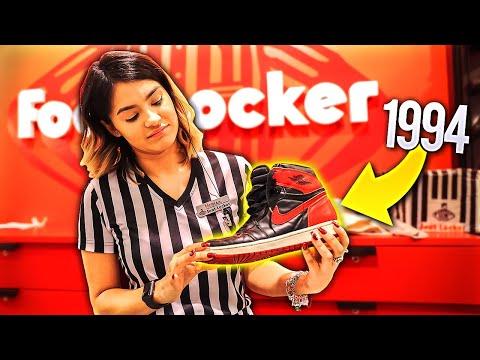 RETURNING JORDANS FROM 1994 TO FOOTLOCKER!!