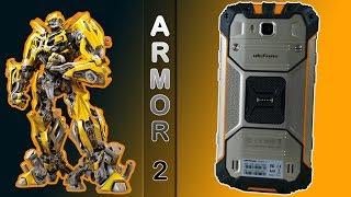 el móvil que más bien parece un transformer, Ulefone ARMOR 2