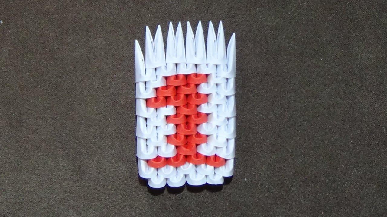 3d origami k