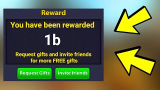 I GOT TO 1B COINS - (8 ball pool)