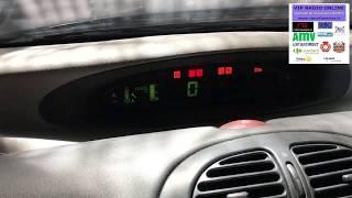 Citroën Xsara Picasso, Remise à zéro du compteur des Révisions