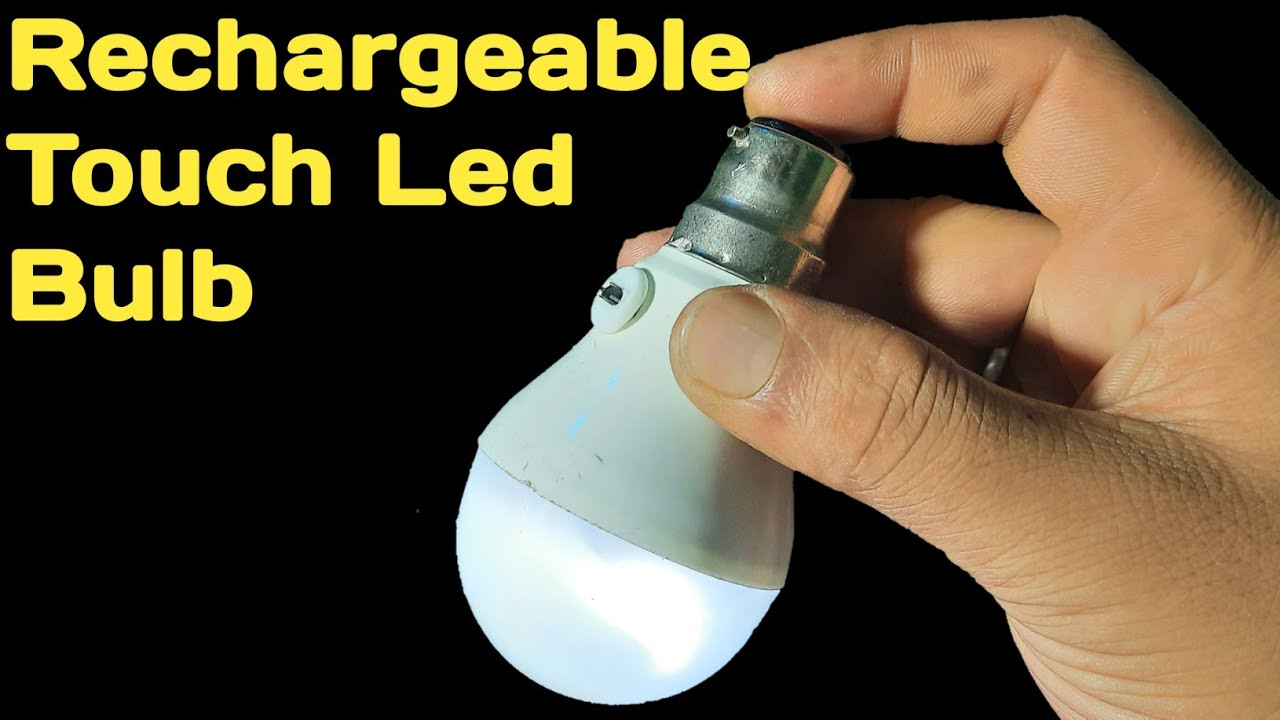 Download Touch led light | diy magical emergency led light | magic led bulb powered by your body | led light