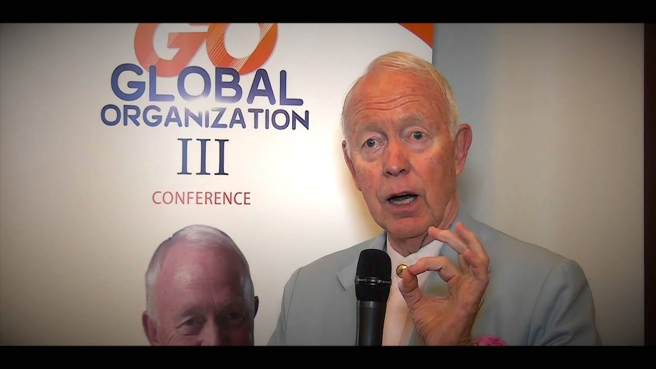 Tony Buzan invites you to attend the biggest training conference Global Organization III ( GO 3 )