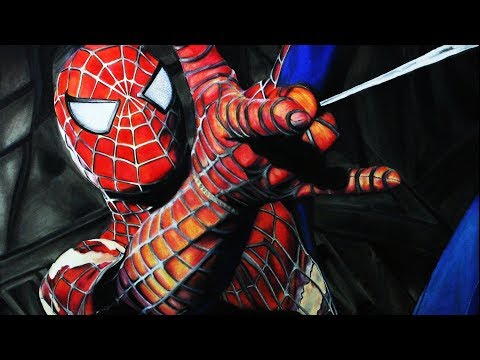 Cómo Dibujar a Spider-Man Realista | How to draw realistic Spider-Man | ArteMaster