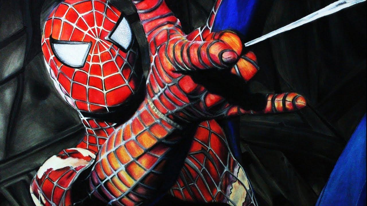 Dibujos De Spiderman Para Pintar: Cómo Dibujar A Spider-Man Realista