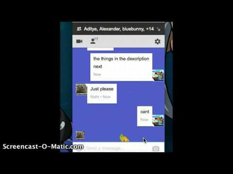 Google Hangout Tricks