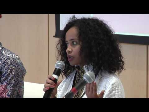 5 African Women's Leadership Conference 2017, New Generation of Leadership Student panel Smith Colle