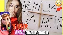 mache um 3 Uhr Nachts niemals CHARLIE CHARLIE mit ANNA aus FROZEN 2