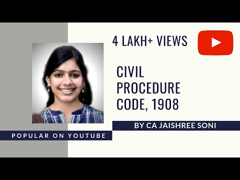 Civil Procedure Code 1908 by CA Jaishree Soni- Industrial, Labour & General Laws CS Executive