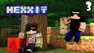 Minecraft: HEXXIT #3 - SMELTERY!